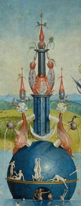 The Garden Of Earthly Delights, Hieronymus Bosch: Towers