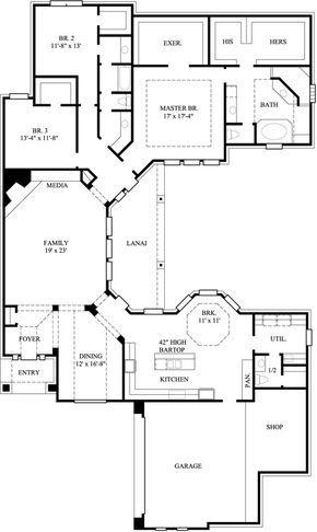 Main Floor Plan: 62-142