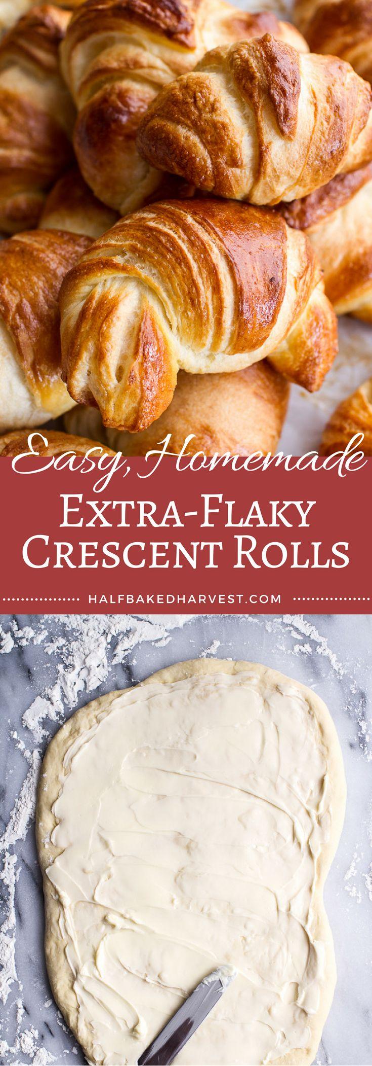 Easy Homemade Extra-Flaky Crescent Rolls | halfbakedharvest.com @hbharvest