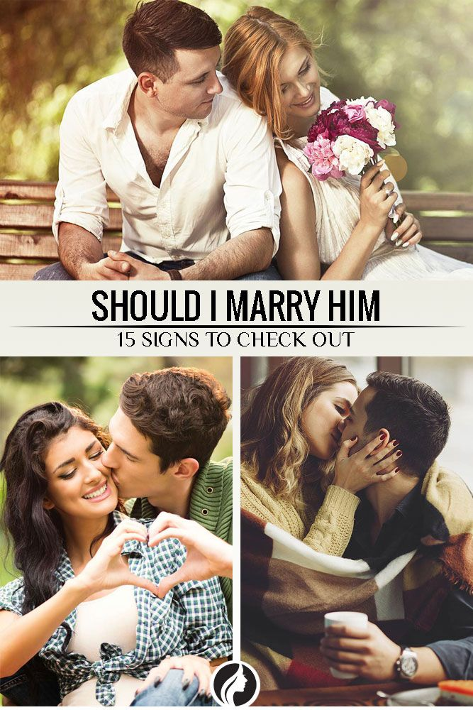 You have had marriage in your mind, and you have been dating a guy for a substantial period of time. Then what is stopping you? Why are you asking yourself the question Should I marry him?  ★ Check it now: http://glaminati.com/big-question-should-i-marry-him/?utm_source=Pinterest&utm_medium=Social&utm_campaign=Cg-big-question-should-i-marry-him