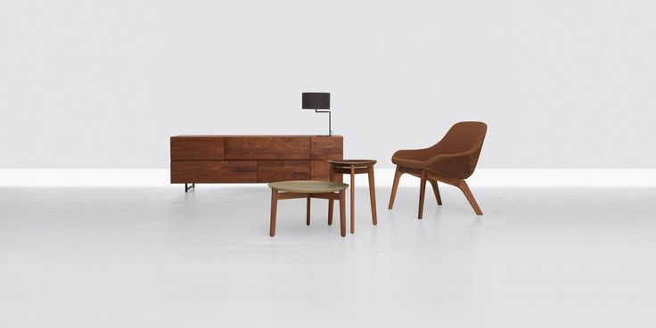 Contemporary sideboard / solid wood - LOW by Formstelle - ZEITRAUM