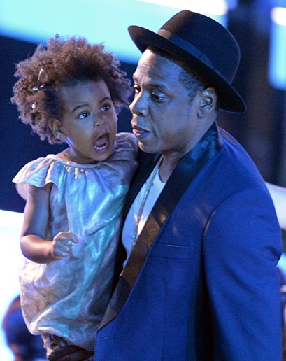 "GQ.com: Jay Z and Blue Ivy CarterBlue looks so much like Jay it's possible he birthed her himself, which would have given new meaning to the term ""dad bod."" ."