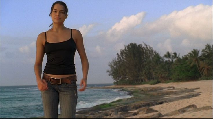 michelle rodriguez confused | Michelle Rodriguez Michelle in Lost: ? (2x21)