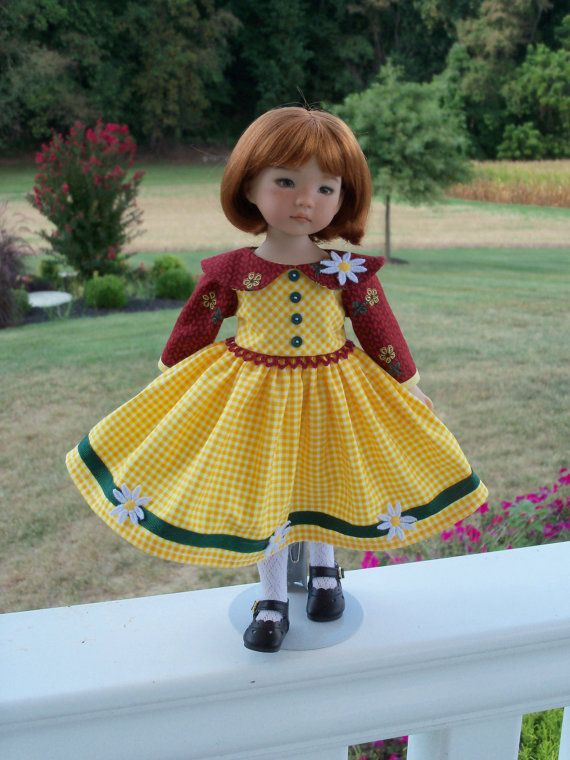 Autumn Jumper Dress for Dianna Effner's 13 by LittleDarlingDuds on Etsy