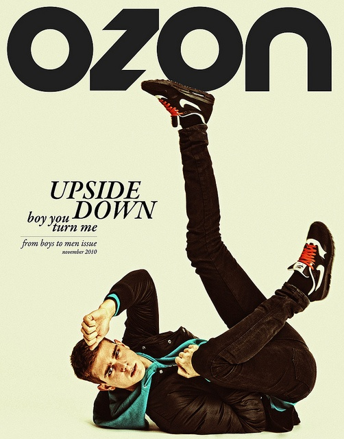 'UPSIDE DOWN boy you turn me', November 2010