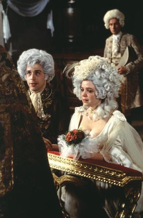 Amadeus - starring Tom Hulce and Elizabeth Berridge, directed by Milos Forman