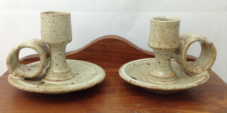 A personal favorite from my Etsy shop https://www.etsy.com/listing/277853940/pottery-candlestick-pottery-candleholder