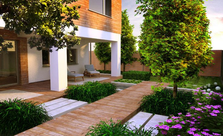One of our best modern gardens. Please feel free to comment.