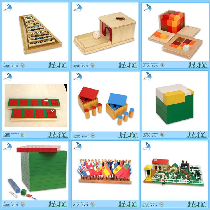 Nurschool School Educational Metal Puzzle Montessori ...