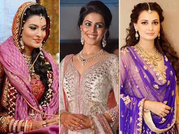 It's bridal month on iDiva and we're celebrating brides all this month. Well, talking of beautiful brides, we can't stop gushing about celebrities who looked oh-so-gorgeous on their wedding day. Take inspiration from these beauties and style your hair like a diva with these stunning celebrity bridal hairstyles. Image courtesy: BCCL/ Facebook Don't Miss: 20 Bollywood Celebrities Who Look Beautiful in Curls!