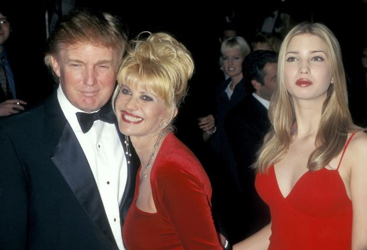 Donald and Ivana Trump with their daughter Ivanka. Since splitting from Donald, Ivana has become a successful businesswoman.
