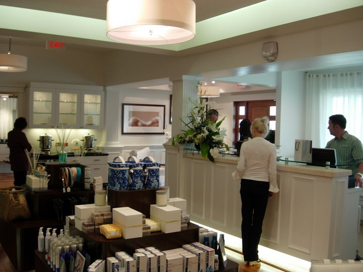 128 best client reception area images on pinterest hair for Luxe decor llp