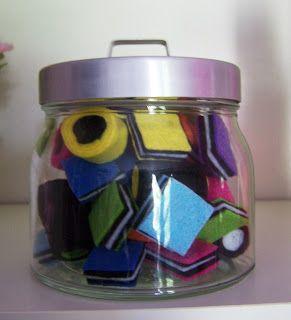 Homemade by Nancy: Veel Engelse drop gemaakt van vilt