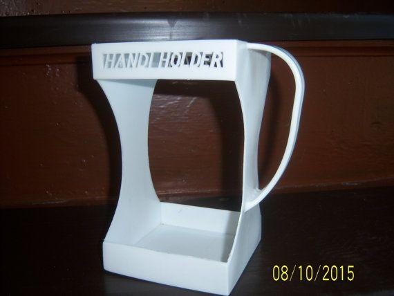 1960 S White Handi Holder Milk Carton Holder Vintage