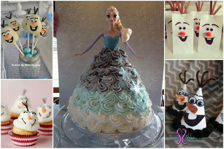 Des idées pour organiser une fête d'enfants sous le thème de la Reine des Neiges