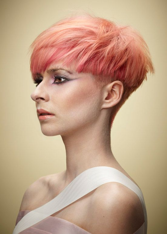 women's undercut with bangs - Google Search
