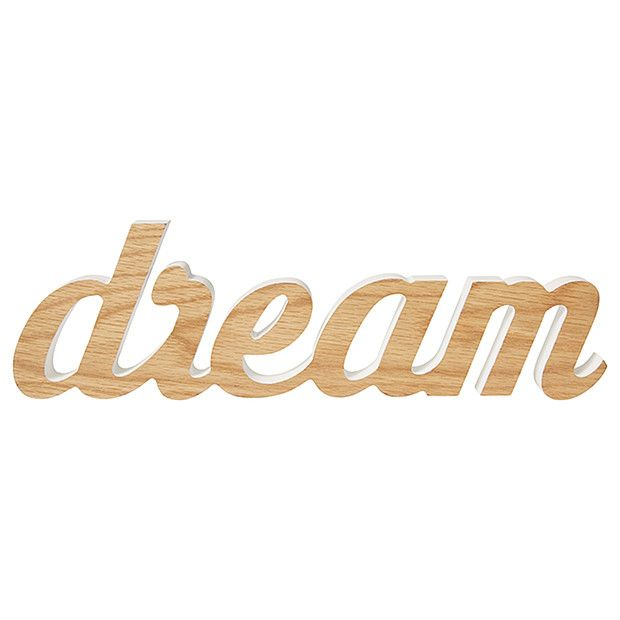 "Wall Words ""Dream"" 