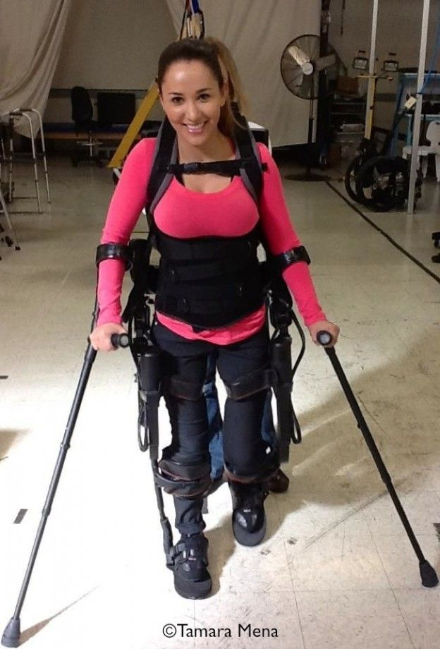 Getting Paraplegics Back On Their Feet