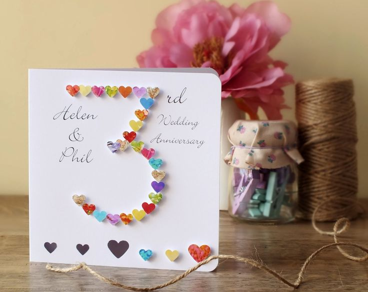 3rd Wedding Anniversary on Pinterest Gift ideas for couples, Gifts ...