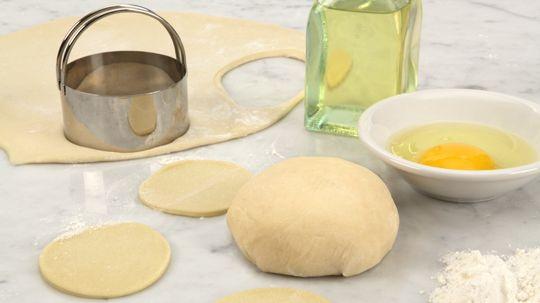 Savoury Perogy Dough - Recipes - Best Recipes Ever - This savoury perogy dough is perfect for our Potato Cheddar Perogies.