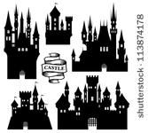 Disney Castle Silhouette Vector