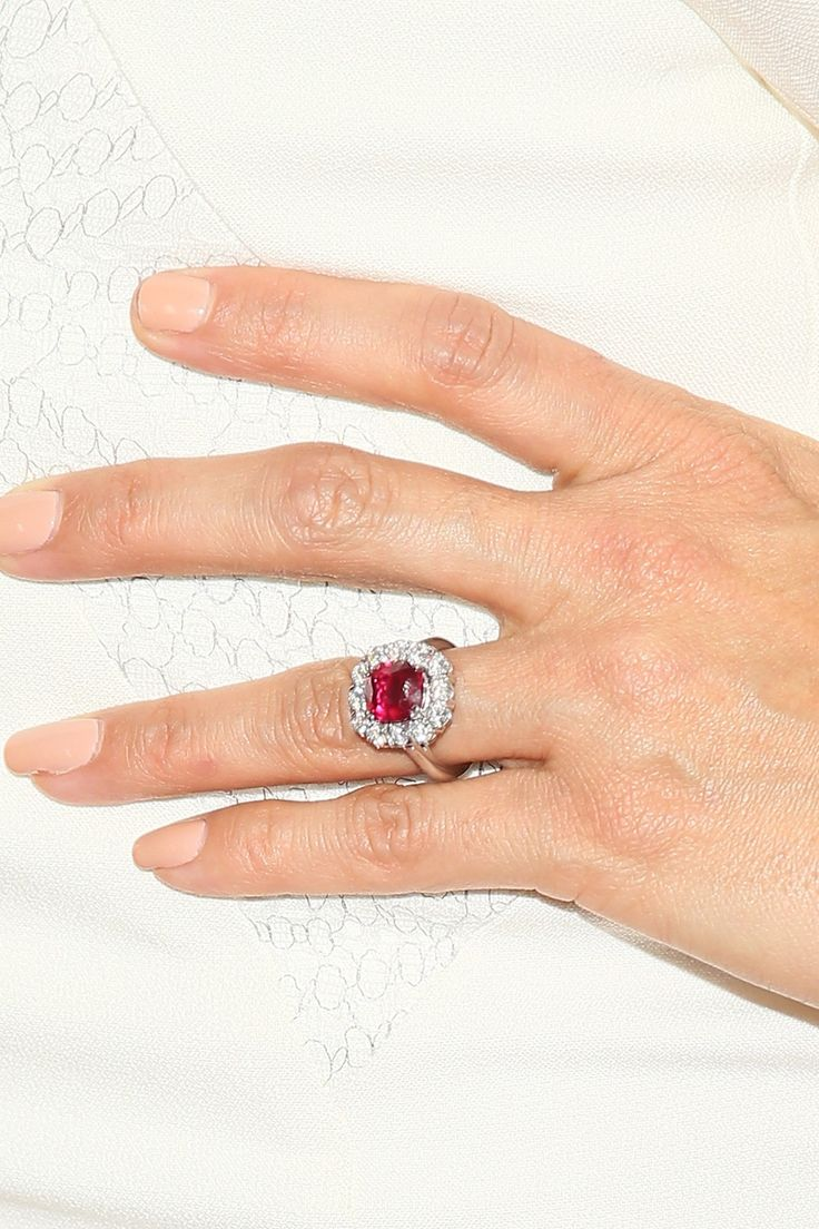 Celebrity Engagement Rings Eva Longoria
