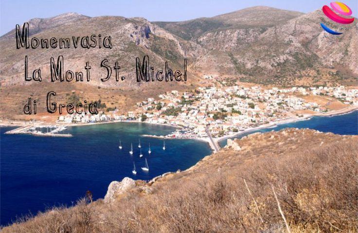 Monemvasia, la Mont Sant Michel di GreciaIdee Di Tutto Un Po' | Dire, fare…viaggiare, cucinare