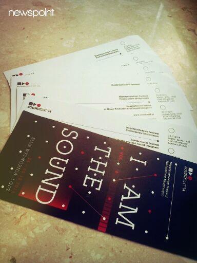 Mamy do rozdania 3 bilety na tegoroczny Soundedit Festival w Łodzi (24-25.10). Już jutro na naszej tablicy konkurs - zwycięzcy dostaną zaproszenia! :)