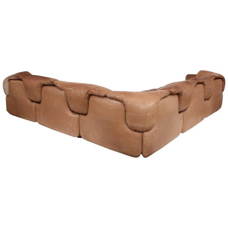 Rare Alberto Rosselli for Saporiti Sectional Sofa For Sale at 1stdibs