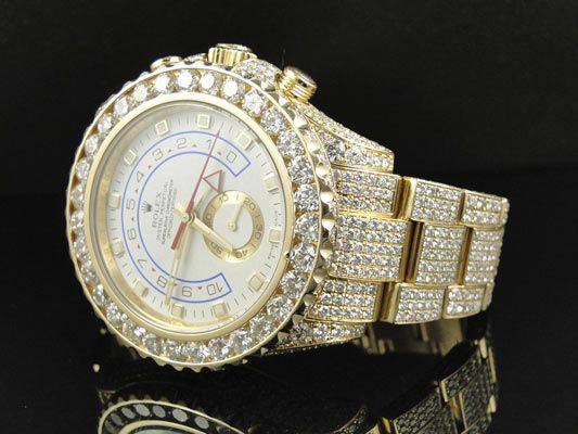 Buy Of The Day, Amazing Mens Rolex Yatchmaster 2 II 18k Yellow Gold Diamond Watch - http://menswomenswatches.com/buy-of-the-day-amazing-mens-rolex-yatchmaster-2-ii-18k-yellow-gold-diamond-watch/ COMMENT.