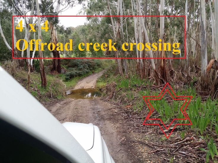 Offroad 4 x 4 Action. Epic River Crossing. 2015 Nissan X Trail Under Water