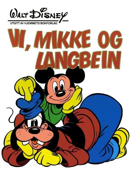 Detaljer for Kjempebøker (Jeg bøkene) Vi, mikke og langbein 1985