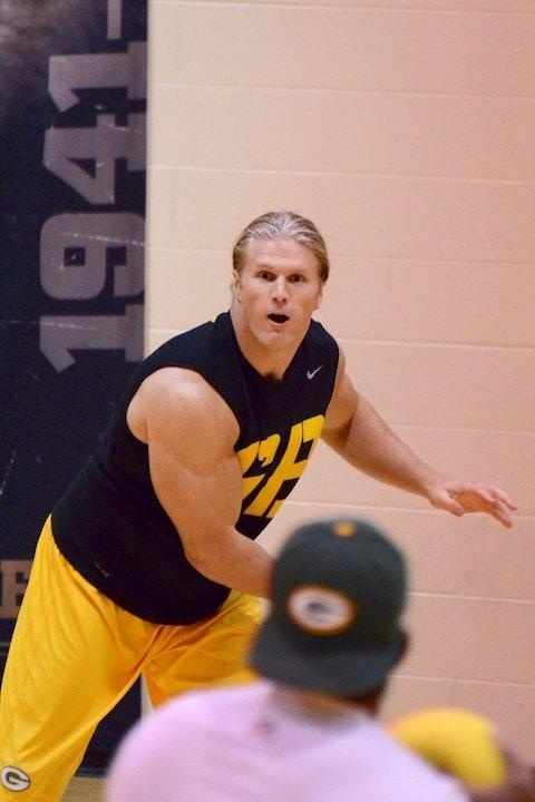 Packers Dodgeball Tourney...I'd be scared!