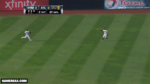 B.J. and Justin Upton collide. | 23 Hilarious Sports Fails