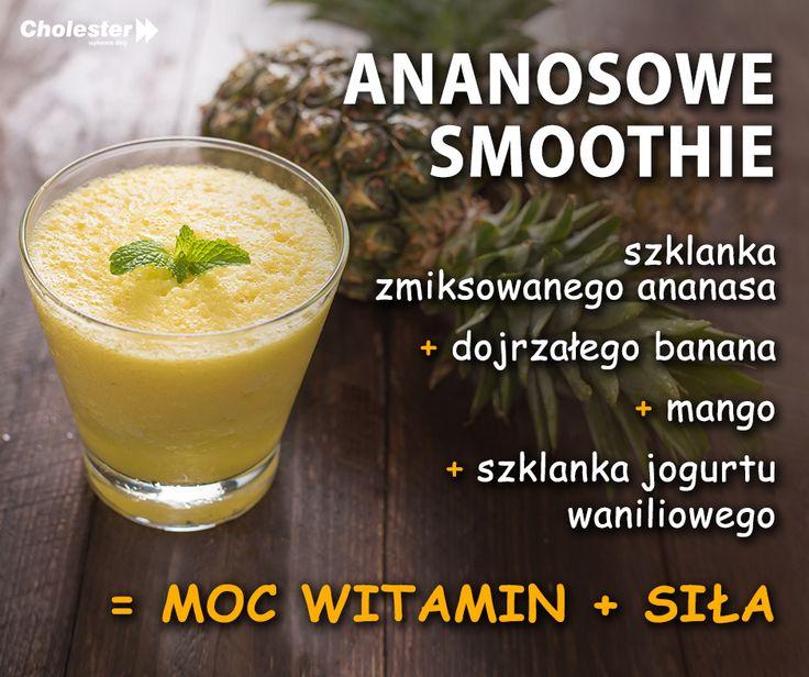 Ananasowe smoothie - czas przyrządzić! #smoothie #napoje #jedzenie #ananas