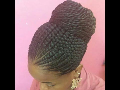 Lovely Pictures of Ghana Braids Styles and Africa Hairstyles