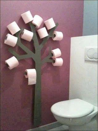 Manualidades para decorar el baño - http://ini.es/183dooq