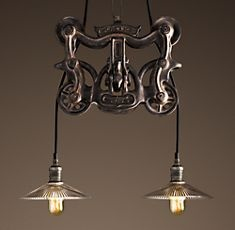barn trolley pendant light