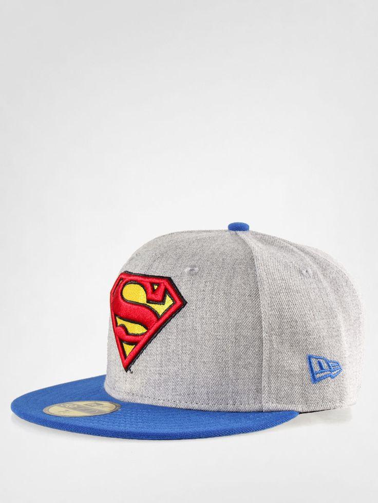 Czapka z daszkiem New Era Heather Hero Superman ZD (grey/blue)