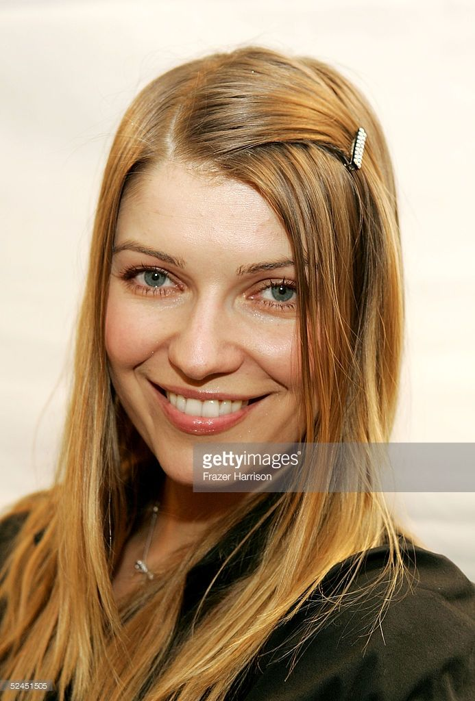 Actress Ivana Milicevic backstage at the Jenni Kayne Fall 2005 show during…