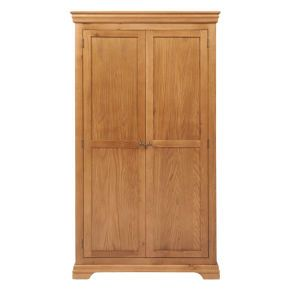 Chateau French Double Wardrobe with Drawers