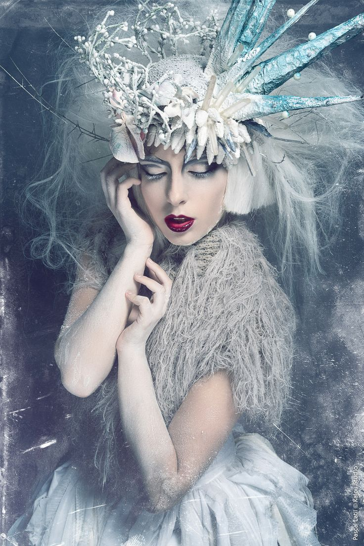 "A look into ""The Snow Queen"" poster shoot inspiration."