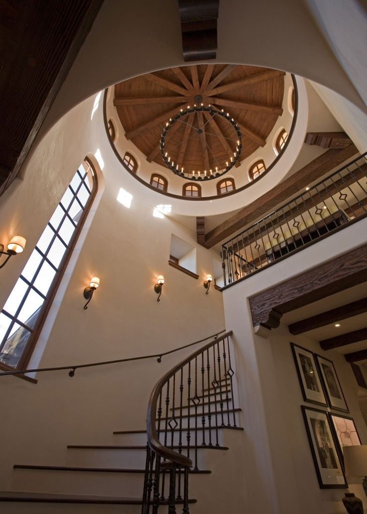 306 best mediterranean and spanish revival style images on Ranch style staircase