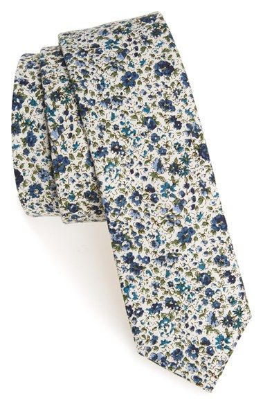 Original Penguin 'Castro' Floral Cotton Tie (Online Only) available at #Nordstrom