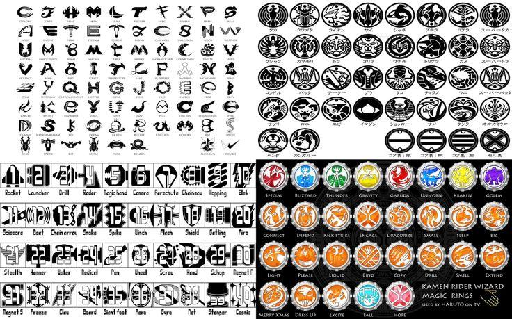 Kamen rider W : Gaia Memory  Kamen rider OOO : Core Medals  Kamen rider Fourze : Astro Switch  Kamen rider Wizard : Magic Rings