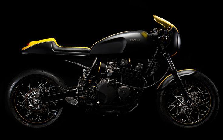 Наш проект / концепция мотоцикла с кафе гонщик