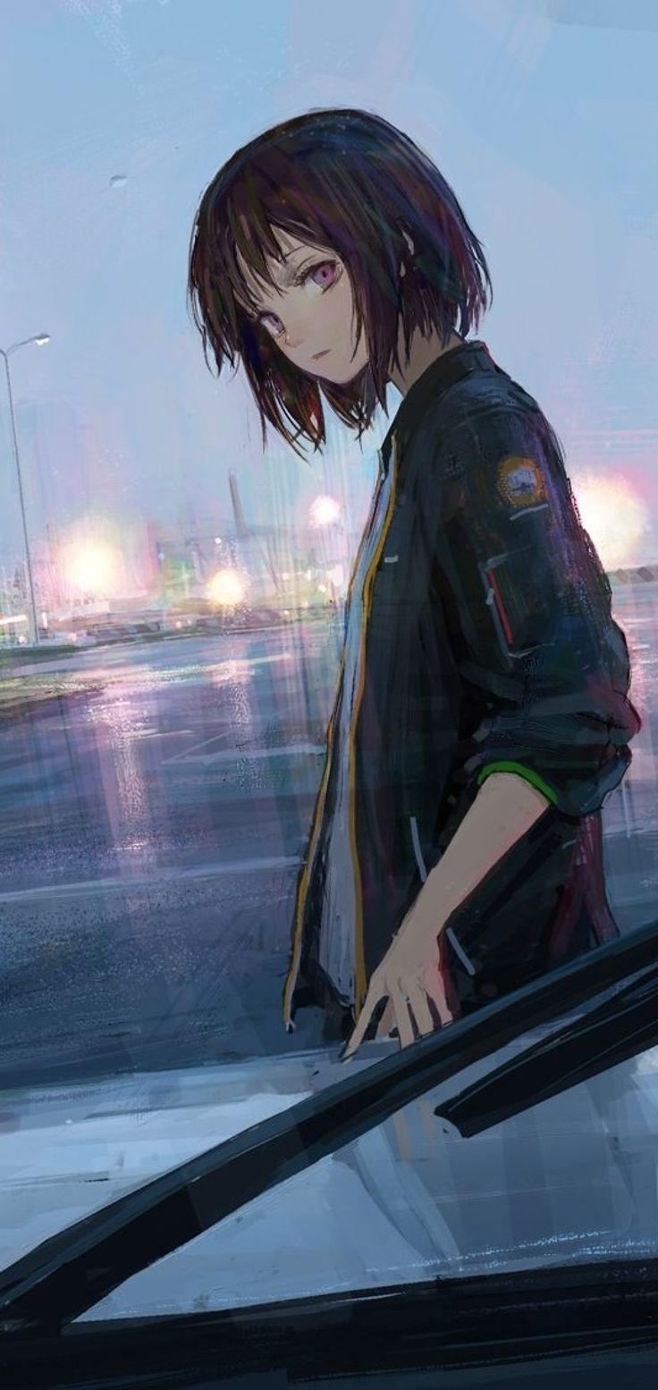 Aesthetic Anime Pfp Black Hair