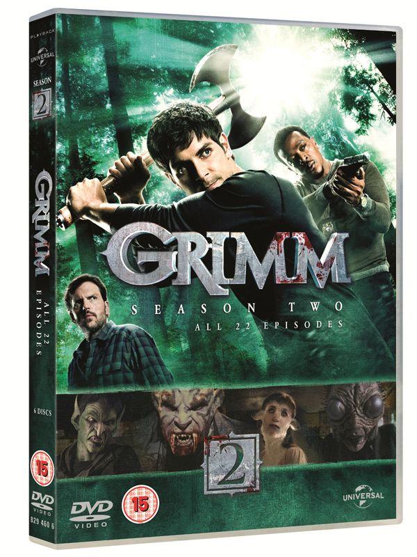 Grimm Season 2 Blu-ray/DVD... I need to catch up so bad!