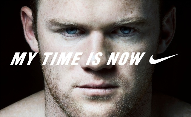 My time is now - Rooney