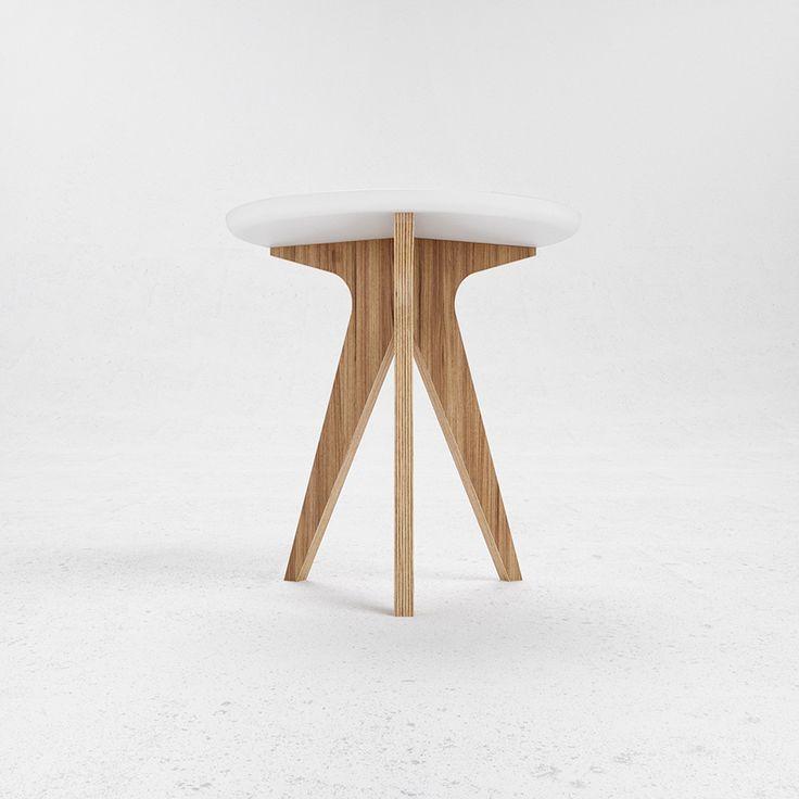 Кофейный столик N2 :: Дизайн-бюро ODESD2